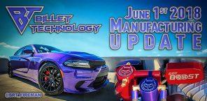 Manufacturing Update June 1st, 2018