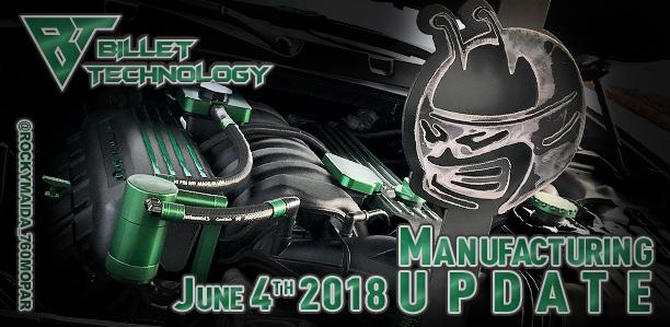 Manufacturing Update June 4th, 2018