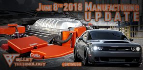 Manufacturing Update June 8th, 2018