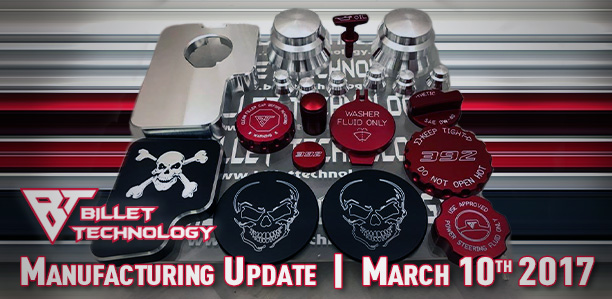 Manufacturing Update March 10, 2017