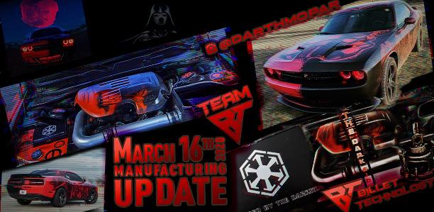 Manufacturing Update March 16, 2020
