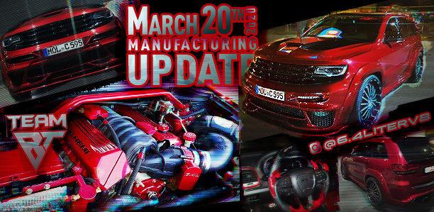 Manufacturing Update March 20, 2020