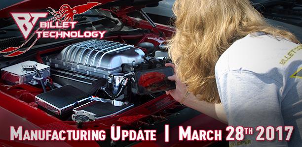 Manufacturing Update March 28, 2017