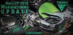 Manufacturing Update March 29th, 2018