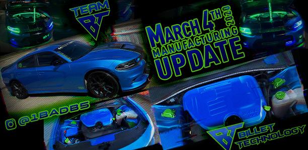 Manufacturing Update March 4, 2020