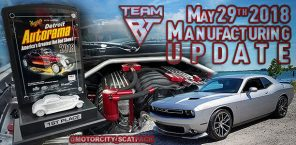 Manufacturing Update May 29th, 2018