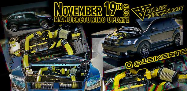 Manufacturing Update November 19, 2019