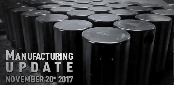 Supplemental Manufacturing Update November 20, 2017