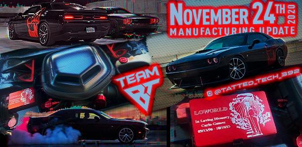 Manufacturing Update November 24, 2020
