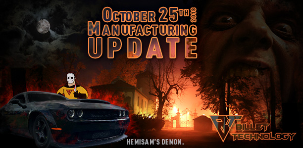 Manufacturing Update October 25, 2018