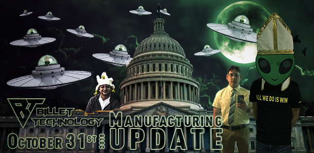 Manufacturing Update October 31, 2018