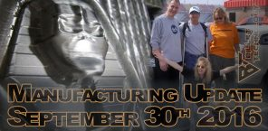 Manufacturing Update September 30th, 2016