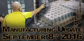 Manufacturing Update September 8, 2016