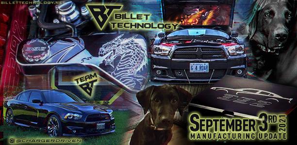 Manufacturing Update September 3, 2021