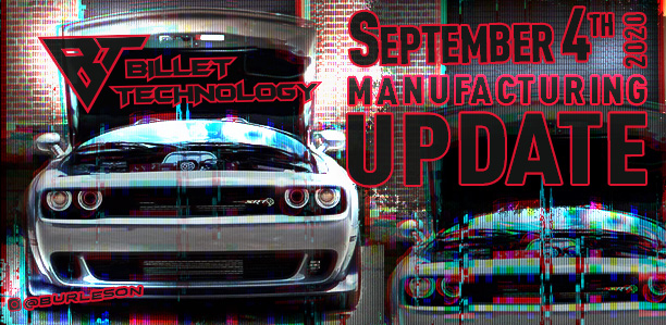 Manufacturing Update September 4, 2020