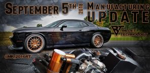 Manufacturing Update September 5th, 2018