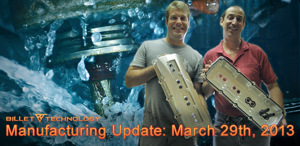 Manufacturing Update March 29th 2013