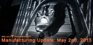 Manufacturing Update May 2nd, 2013