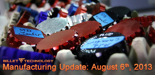 BT Manufacturing Update August 6th, 2013