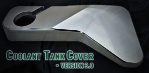 New Product: Billet Coolant Reservoir Cover