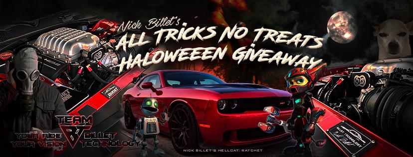 Nick Billet's All Tricks No Treats Halloween Giveaway