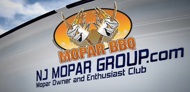 NJMG 6th Annual Mopar BBQ 2012