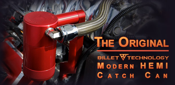 Billet Technology's Original Catch Cans