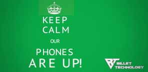 Phones Are Back UP at BT HQ!!