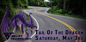 Tail Of The Dragon - Saturday May 3rd
