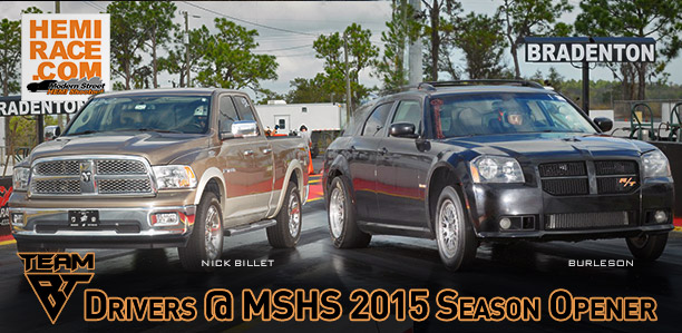 Team BT Results @ MSHS 2015 Season Opener