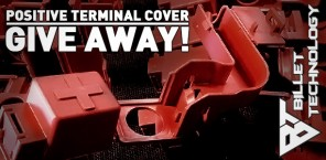 Positive Terminal Cover Give Away!