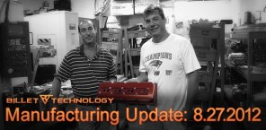 Manufacturing Update: August 24, 2012